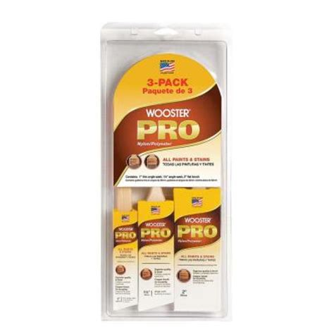 home depot paint pro wooster pro 1 in thin angle sash 1 1 2 in angle sash 2