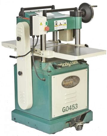 grizzly    hp planer wood magazine