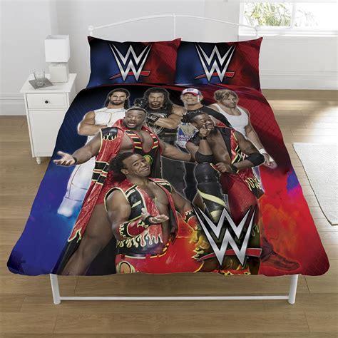 wwe kids bedroom wwe superstars single and double duvet cover sets kids bedroom bedding
