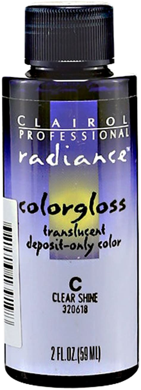 clairol color gloss clairol radiance colorgloss demi permanent hair color