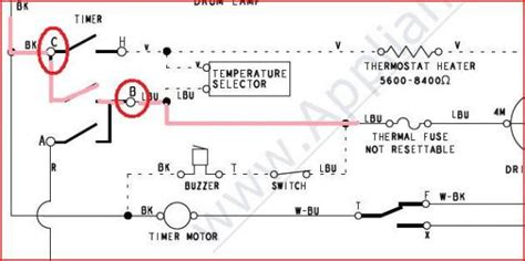 red4440vq1 wiring diagram 28 images roper dryer