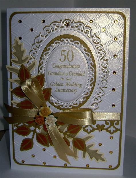 84 best images about 50th wedding ann. Cards on Pinterest