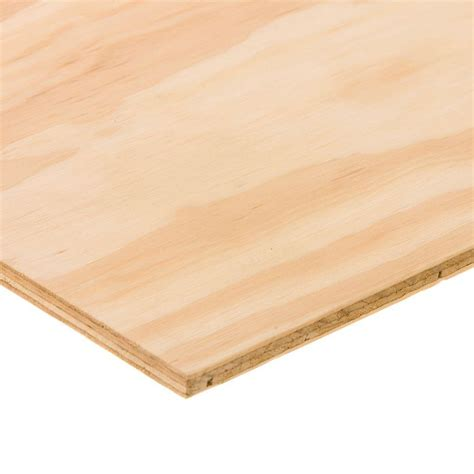 tempered hardboard common 1 8 in x 2 ft x 4 ft
