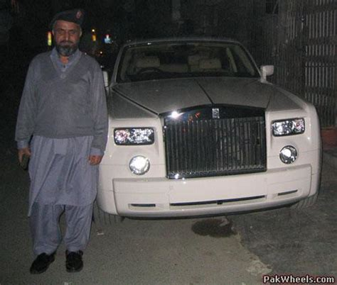 roll royce karachi the most expensive car in pakistan mechanical