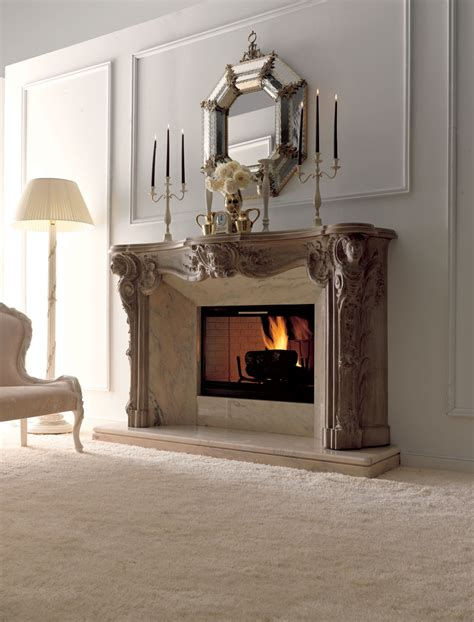 luxury fireplaces for classic living room by savio firmino