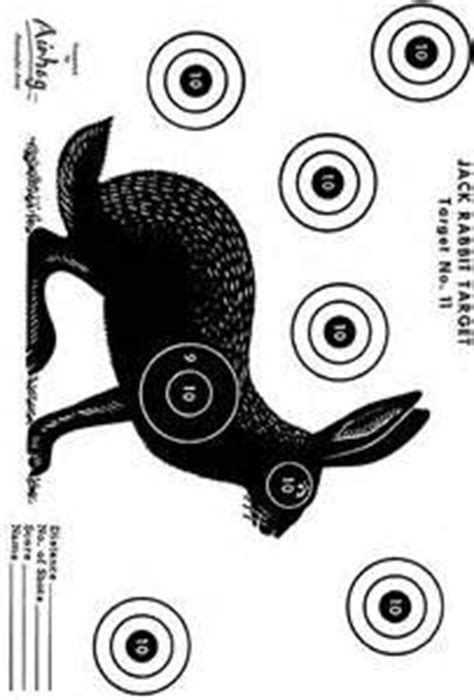 printable animal air rifle targets 17 best images about right on target targets for shooting