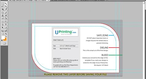 photoshop card templates a cool photoshop business card tutorial for print ready