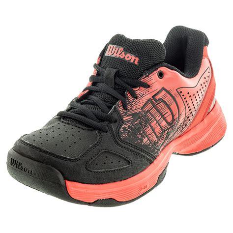 Kaos Shoe tennis express wilson juniors kaos comp tennis shoes radiant and black