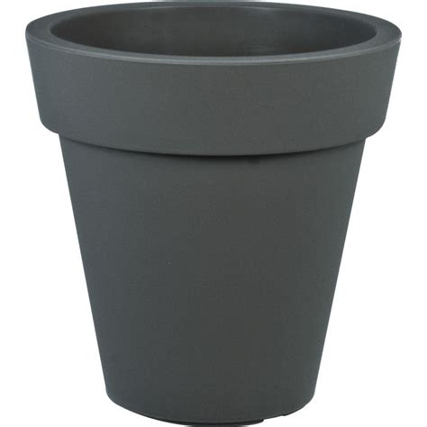 26 In Round Wooden Barrel Planter Hl6642 The Home Depot Home Depot Barrel Planter