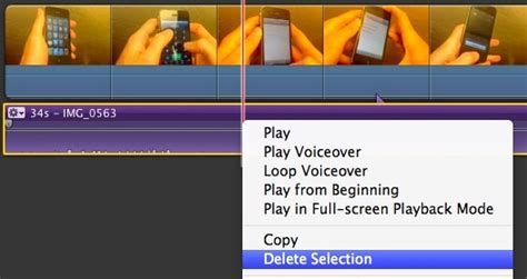 membuat video dengan imovie cara hapus audio track dari video dengan imovie untuk mac