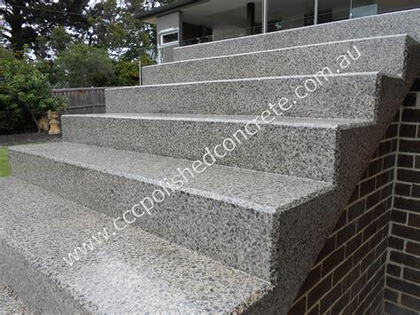 CCC Polished Concrete   Concrete Step Transformation