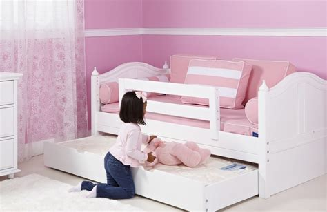 double toddler bed double trundle bed for kids bedroom homesfeed