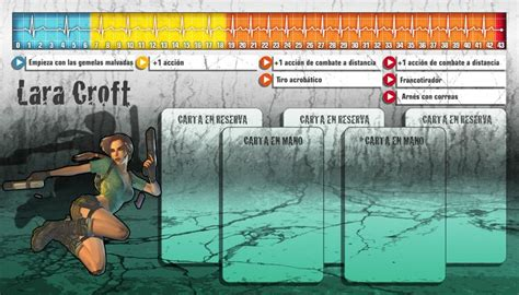 zombicide character card template personaje de quot lara quot de para el juego