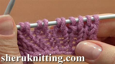 increase knit stitch at end of row increasing stitches knit stitch on row below tutorial 8