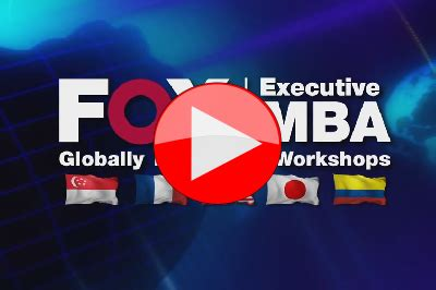 Fox Global Mba Tuition by Risk Management Workshop