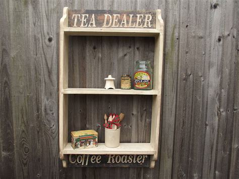 advertising kitchen wall rack by woods vintage home