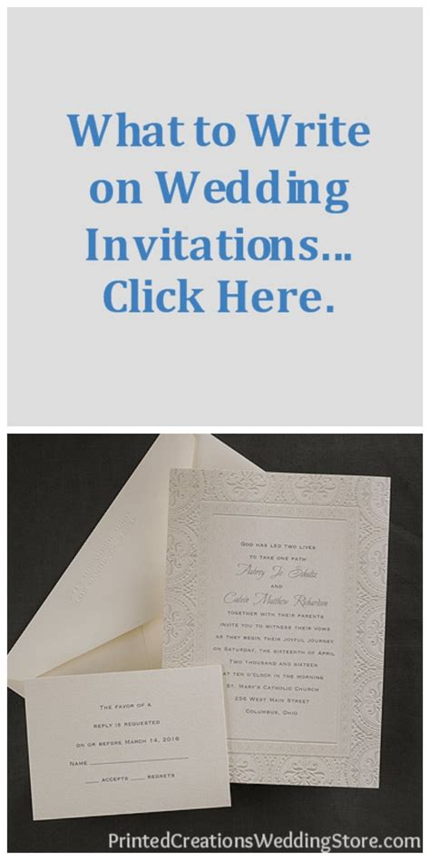 what to write on your wedding invitations pin by printed creations wedding store wedding invitations save th