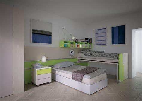 letto con scrivania estraibile letto scorrevole pw08 marzorati camerette