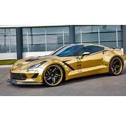 DUB Magazine  Gold Wide Body Corvette On Forgiatos VIDEO