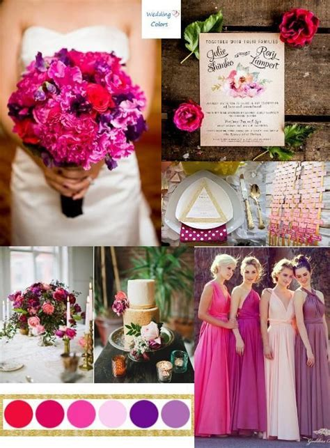 183 best images about Pink and Purple Wedding Colors on