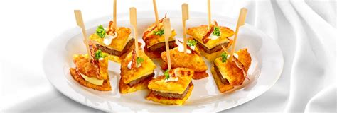 Fingerfood Anrichten by Burger Fingerfood Rezept F 252 R Den Snack Wie