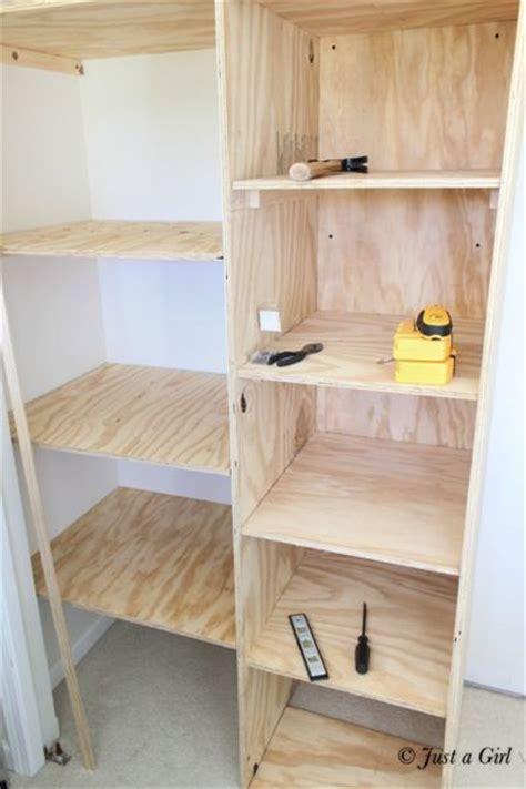 Building Closet Shelves by Best 25 Diy Closet Shelves Ideas On Closet
