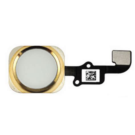 Home Button 1 for iphone 6s home button key with flex cable gold