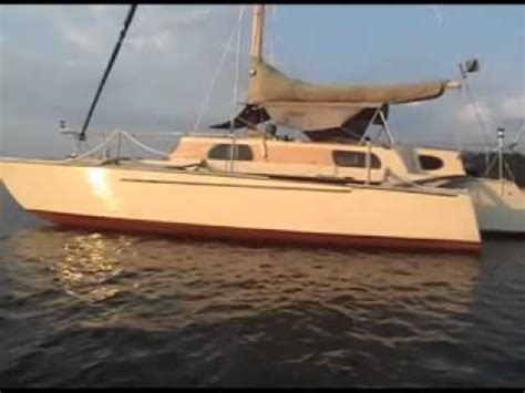 sailing zatara boat for sale waterworld trimaran montage funnycat tv