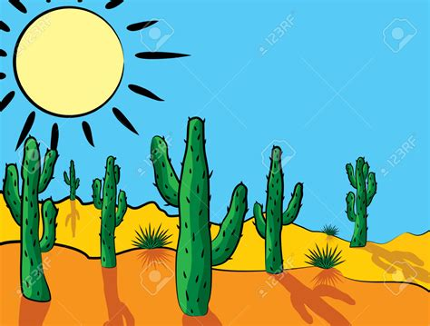 free vector clipart in the desert clipart vector pencil and in color in the