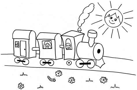 imagenes infantiles para colorear de trenes dibujos para colorear de transportes coches barcos