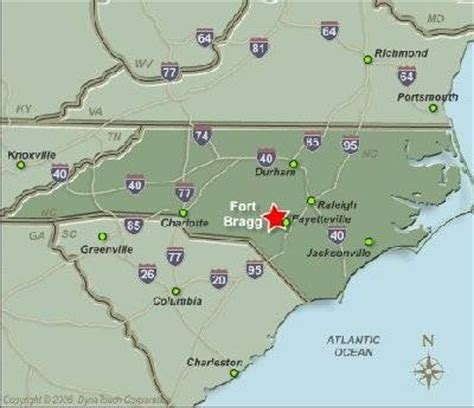 fort bragg carolina map fort bragg nc pictures to pin on pinsdaddy