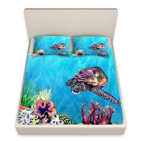 sea turtle bed sheets bed sheets sea turtles pinterest studios turtles