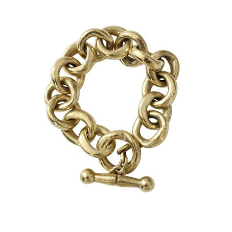 chain links for jewelry vaubel link chain bracelet in gold lyst