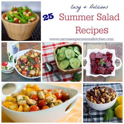 Summer Kitchen Salads 25 summer salad recipes