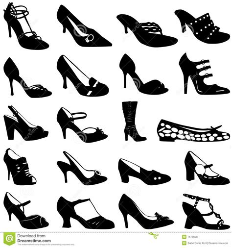 stock photos royalty free images and vectors fashion shoes vector royalty free stock photos