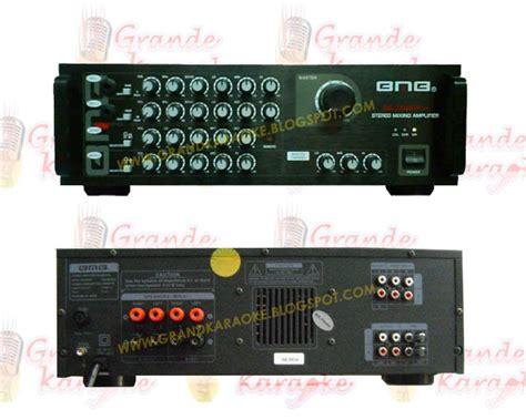 Bmb Da 1600 Pro home karaoke system dvd lifier speaker bmb locus avante kjb geisler bmb da