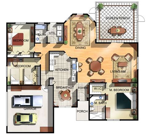press floorplanner create floor plans house plans and plano de casa de un piso planos de casas modernas