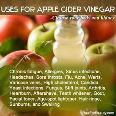 Apple Cider Vinegar Detox Headache by Acv On Apple Cider Vinegar Sinus Infection