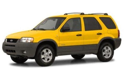 2002 mazda tribute recalls demand for ford escape unintended acceleration recalls