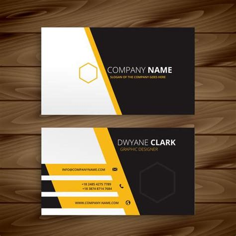 modern business card design templates modern business card template vector design illustration