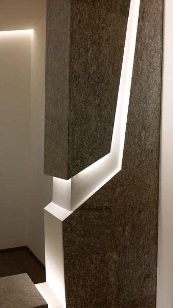 rivestimenti pilastri interni rivestimento pilastri in luserna e led particolare