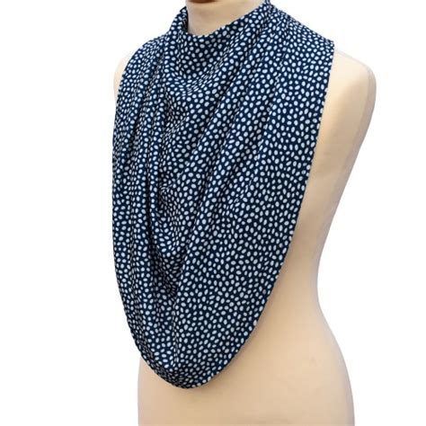 Pashmina Standar 4 pashmina style clothes protector dotted navy alzheimer s society shop