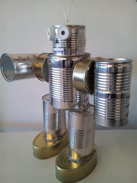 robot reciclado manualidades infantiles como hacer un robot reciclado ecocentro ies sierra mont 225 nchez robots con material