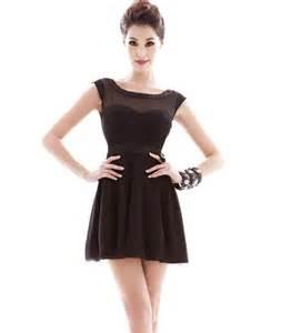 black sleeveless mesh dress party dresses women