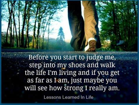walk in my shoes quotes