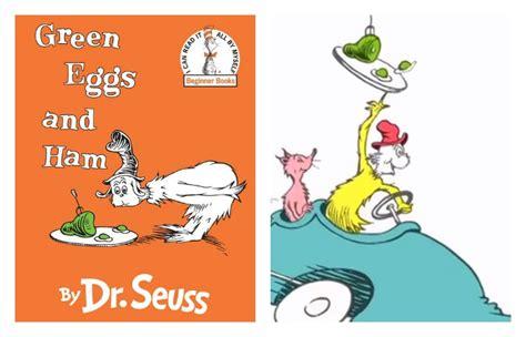 green eggs and ham book report seuss sam i am