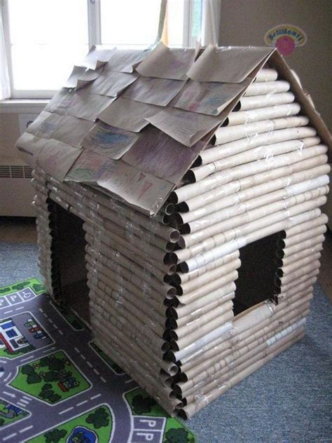 How To Make Paper Logs - 302 best images about cardboard box reggio