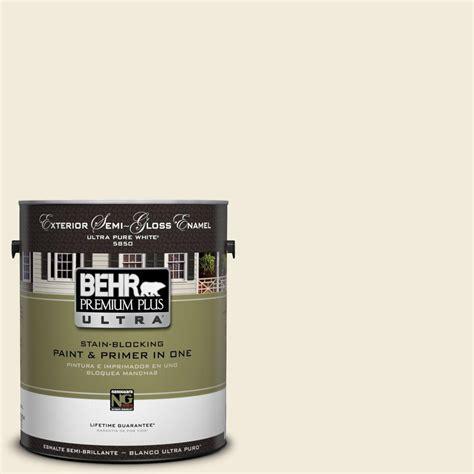 home depot paint sheen behr premium plus ultra 1 gal ppu7 13 coastal beige semi