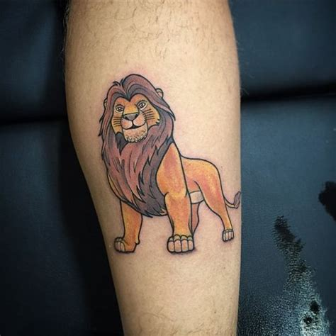simba and nala tattoo king tattoos hakuna matata simba and nala