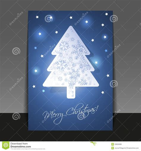 christmas card template stock vector image  cheerful